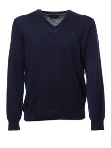 POLO Ralph Lauren - Blue pullover with logo embroidery