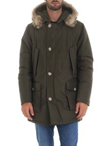 Woolrich - Arctic Parka Df down jacket in Army green color