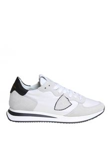 Philippe Model - Trpx sneakers in suede and nylon