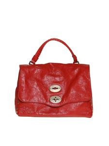 Zanellato - Postina S bag in red Lustro Line