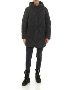 Save the duck - Quilted effect down jacket in anthracite gray