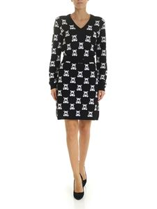 Moschino - Teddy embroidery dress black
