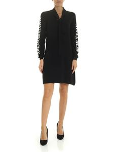Moschino - Moschino Milano embroidery dress in black