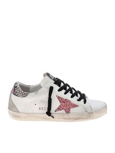 Golden Goose Deluxe Brand - Superstar sneakers in white with glittered star