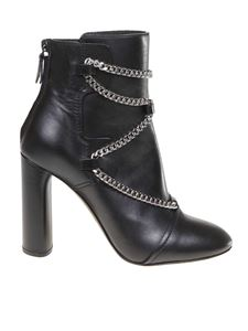 Casadei - Zoe ankle boots in black leather