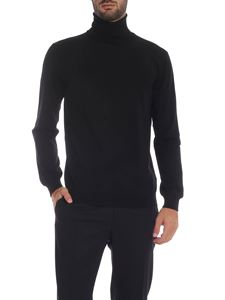 Zanone - Black knitted turtleneck