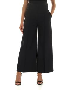 Stella McCartney - Pantalone a gamba larga nero