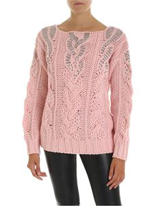 Ermanno Scervino - Pink pullover with jewel details