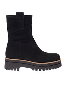Paloma Barceló - Amaya ankle boot in black with handles