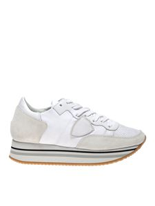 Philippe Model - Tropez sneakers in white