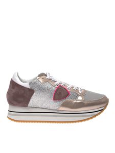 Philippe Model - Sneakers Tropez glitterata