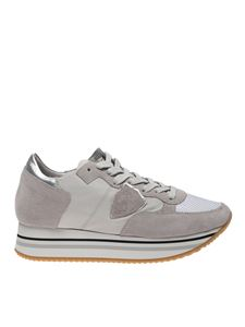 Philippe Model - Tropez sneakers in grey color
