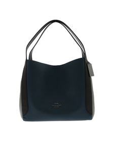Coach - Hadley bag in teal blue and grey