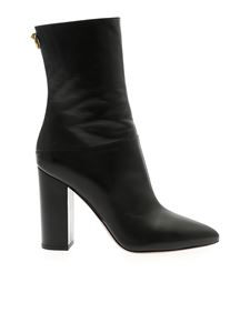 Valentino - Pointed boots in black