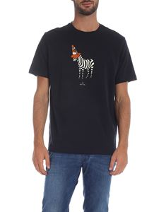 PS by Paul Smith - T-shirt girocollo Cone blu
