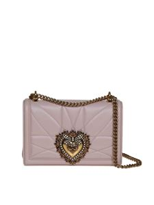 Dolce & Gabbana - Devotion medium bag in powder pink color