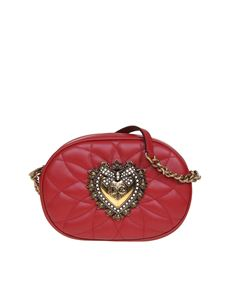 Dolce & Gabbana - Devotion Camera bag in red