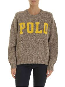 POLO Ralph Lauren - Beige melange pullover with Polo embroidery
