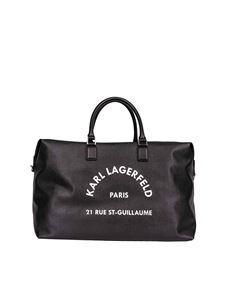 Karl Lagerfeld - Weekend Rue St Guillaume bag in black