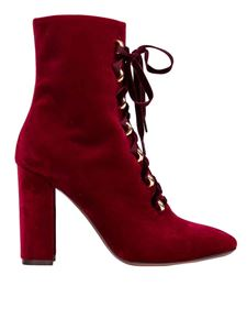 L'Autre Chose - Ankle boots in burgundy red