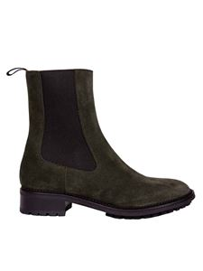 L'Autre Chose - Chelsea boots in army green