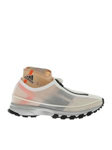 Adidas by Stella McCartney - Adizero XT sneakers in white and nude