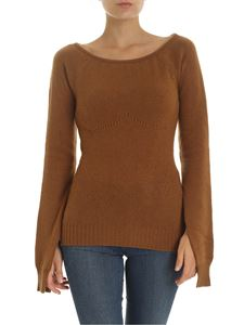 N° 21 - Brown cashmere pullover