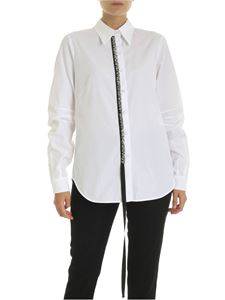 N° 21 - White shirt with jewel detail