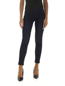 J Brand - Dark blue jeans with elastic at the waist