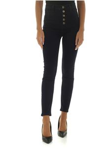 J Brand - Dark blue jeans with 5 buttons