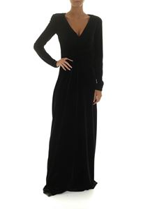 Emporio Armani - Long dress with V-neck