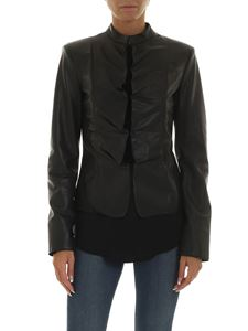 Emporio Armani - Black leather jacket