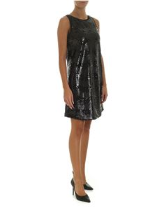 Emporio Armani - Black sequin dress