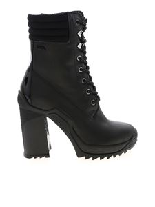 Karl Lagerfeld - Voyage Ankle Lace Boots in black