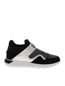 Hogan - H371 sneakers in black and silver