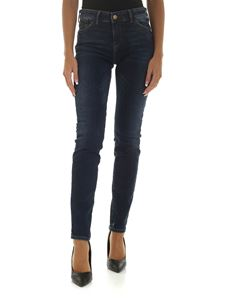 Emporio Armani - Push-up effect jeans in blue color