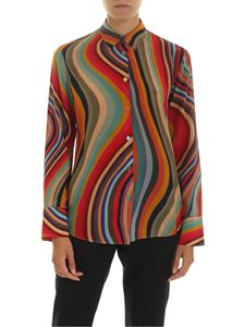 PS by Paul Smith - Multicolor silk shirt