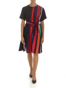 PS by Paul Smith - Black dress with multicolor print