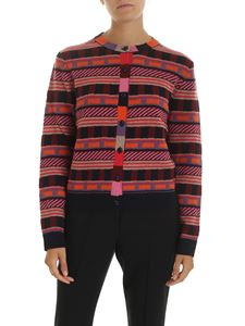 PS by Paul Smith - Multicolor cardigan with geometric pattern
