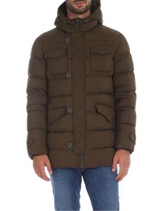 Herno - L'Eskimo down jacket in Army green