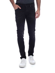 Dondup - Jeans Ritchie nero destroyed