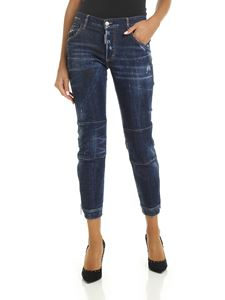 Dsquared2 - Blue jeans with zip at the bottom