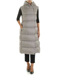 Max Mara - Seig sleeveless down jacket in grey