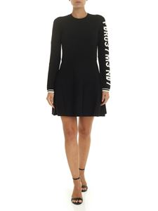 Red Valentino - Forget Me Not short dress in black