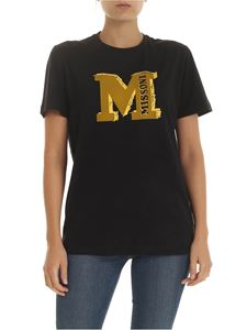 M Missoni - M Missoni print t-shirt in black
