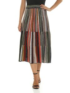 M Missoni - Multicolor knitting midi skirt
