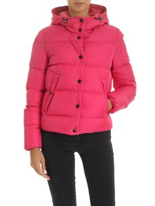 Moncler - Lena down jacket in fuchsia color