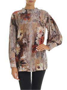 L'Autre Chose - Blouse with multicolor floral print