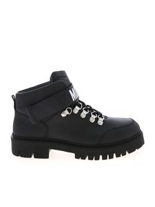 Moschino - Brick40 ankle boots in black
