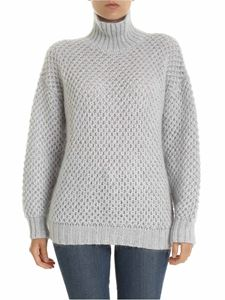 Alberta Ferretti - Light grey oversized pullover